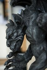 Medieval Fantasy WINGED GARGOYLE CANDLE HOLDER Gothic Wall Sconce Superb Detail