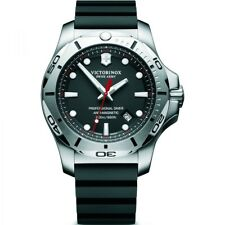 Brand New Victorinox Swiss Army mens I.N.O.X steel rubber diving watch