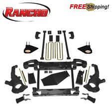 "Rancho 4"" Torsion Bar Drop System Lift Kit Fits 2011-2018 Chevy Silverado HD"