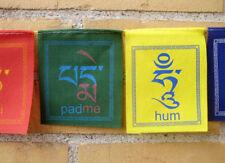 Tibetische Gebetsfahnen - om ma ni padme hum - für Balkon od. Terrasse - NEPAL