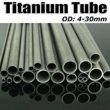 Ochoos 60mm OD 58mm ID 601500 GR2 Titanium Tube TA2 Titanium Alloy Pipe Anti-Corrosion auto Vent Pipe Thin-Wall Ti tubing