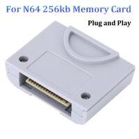 256KB Gamepad Memory Card Replace For Nintendo64 N64 Controller Jumper Pak Pack