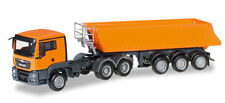 HERPA 306478  MAN TGS L Euro 6 dumper semitrailer 1:87