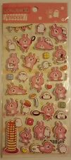 Puffy Kawaii Kanahei Puffy Stickers Sheet Stationary Japan Japanese