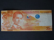 The New 2010 Philippine 20 peso bill, MANUEL L. QUEZON/BANAUE RICE TERRACES