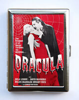 Dracula Cigarette Case Wallet Business Card Holder horror movie b-movie lugosi