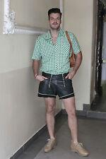 Sportlich Chic Herren Hemd shirt grün weiß kariert green 60er True VINTAGE 60´s