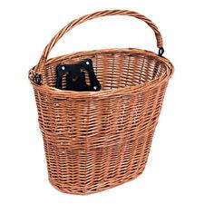 Bikecorp Quick Release Wicker Bike Basket Tan