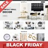 BLACK FRIDAY: WALL DECOR STORE - Dropshipping Business Website For Sale
