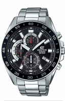 CASIO EDIFICE Watch EFV-550D-1AV Stainless Steel 100m Men's  EFV550   With  Box