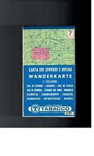 Wanderkarte   - Weinstrasse Mendel Cembrtal Blatt 7