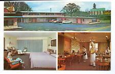 Eugene Or Travel Inn Motel & Restaurant Postcard 1950s