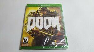 Doom (Microsoft Xbox One, 2016)  Brand New SEALED