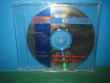 EISENBAHN JOURNAL ~ CD-ROM    11 / 2003 ONLY ~ GERMAN TEXT > VGC SEE PIC'S