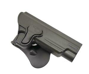 Amomax Airsoft Quick Release CQB Belt 1911 Holster Black R/H Co2 KWC 1911G2