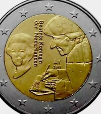 Netherlands Coin 2€ Euro 2011 Commemorative Erasmus New UNC From Roll Reforms