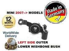FOR BMW MINI R57 COPPER ONE S DIESEL 2007--> NEW LEFT SIDE LOWER WISHBONE BUSH