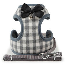 Chameleon Dog Puppy Harness & Lead for small  Medium to Large Dogs