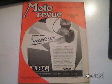 **b Moto Revue n°1341 Bourg en Bresse / 250 Adler 1957 / Allemagne 56