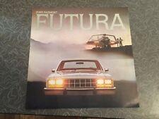 1977 Ford Fairmont Futura Car Auto Dealership Advertising Brochure