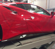 Ferrari 488 GTB & 488 Spider Carbon Fiber Side Skirts Covers
