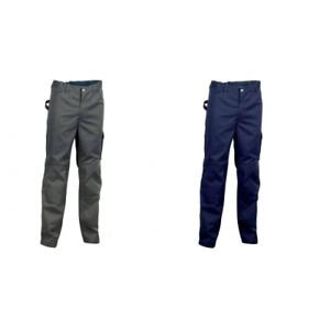 Cofra Rabat pantalone da lavoro per primavera estate in poliestere e cotone con