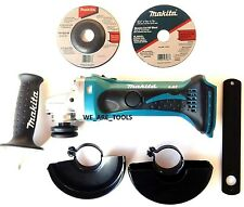 "New Makita XAG01 18V Cordless Battery Angle Grinder 4 1/2"" 18 Volt LXT Lit-ion"