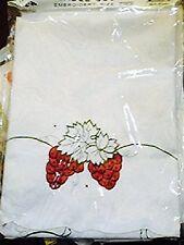 "72"" x 90"" Thick Satin Polyester Table Cloth Oblong Grape Design USA SHIPPING"