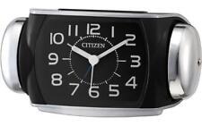 CITIZEN Clock Loud volume Radio Analog Wake-up Silver 8RA636-002