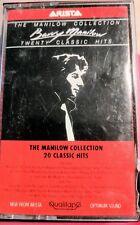 Barry Manilow Cassette Tape Twenty Classics Hits