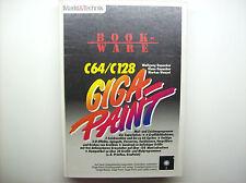 < c64/c128 Giga-Paint > mercato & Technik LIBRO CON DISCHETTI (z3g023)