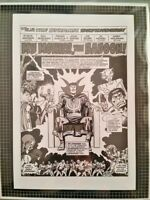 Marvel Comics DEFENDERS #28 p1 Rare Production Art Sal Buscema Dr Strange HULK