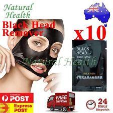 10x Pilaten Blackhead Black Head Remove Pore Cleansing Strip Mask Face Nose Acne