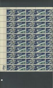 U S Full Sheet Of Mint Stamps Scott #1331-1332 Accomplishments In Space See Info