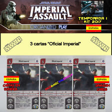 STAR WARS IMPERIAL ASSAULT 2017 TEMPORADA 1 ESPAÑOL - 3 Oficial Imperial