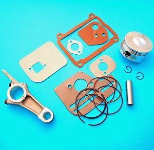 Engine Overhaul Kit, Piston, Rings, Gasket Set & Conrod Fits Honda GX100 Engine