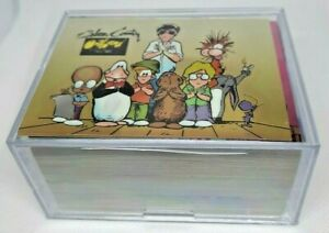 1995 Bloom County Outland Chromium 100 Card Set by Krome Productions