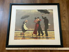 The Singing Butler by Jack Vettriano Scottish Painter Framed Triple Matted