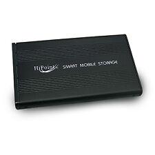 """NERO USB 2.0 Esterna 2.5"""" SATA Disco Rigido Alloggiamento Alluminio Case Caddy"""