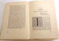 Le roman de Tristan et Iseut, 1920, Joseph Bédier, bel exemplaire !