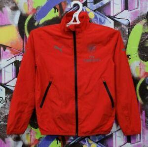 Arsenal FC Gunners Football Soccer Longsleeve Jacket Top Puma Youth size M