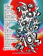 Spaß Nummern 1-209 Malbuch Ausbildung Hilfe Übungen Für Wahrnehmung...