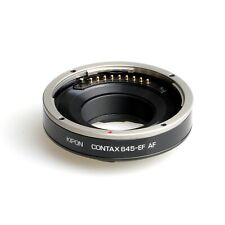 Kipon Autofocus AF Adapter for Contax 645 Medium Lens to Canon EOS DSLR Camera