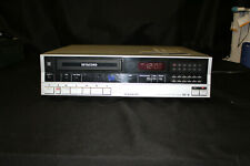 Sanyo Vcr 4650 Betacord Betamax Vcr Video Cassette Recorder/Player! Powers On!
