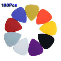 Ca. 100pcs Plastik Plektren Plektren - Assorted zufaellige Farbe GY B3F8