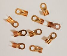 10 PCS Copper Battery Cable Connector Terminal Lugs 6mm/23mm Scooter Motorcycle