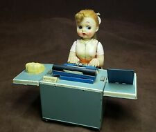 Miss Friday The Typist Battery Operated 1950's Tin Toy FULLY OPERATIONAL Ex Cond