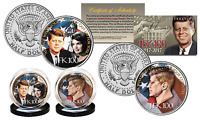 JFK100 JOHN F. KENNEDY Centennial OFFICIAL 2017 JFK Half Dollar 2-Coin U.S. Set