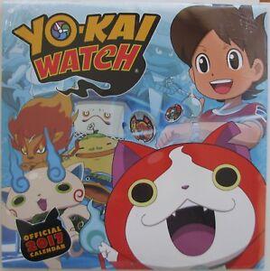 YO-KAI WATCH....OFFICIAL 2017 CALENDAR 12X12....SEALED