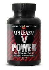 Unleash V Power Male Enhancement. Erection and Optimizes Sexual Health(1 Bottle)